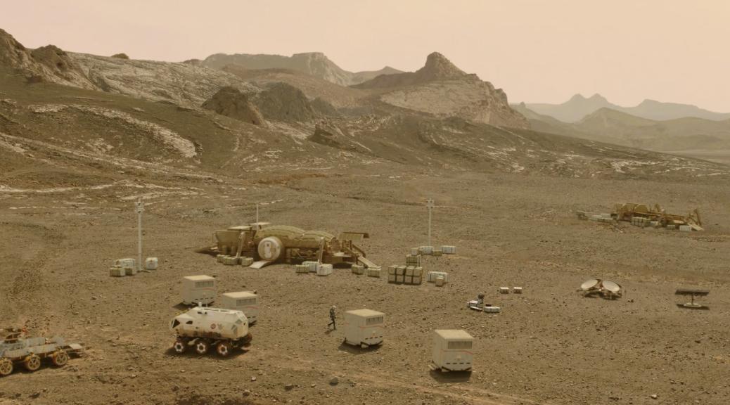 Mars for Nat Geo